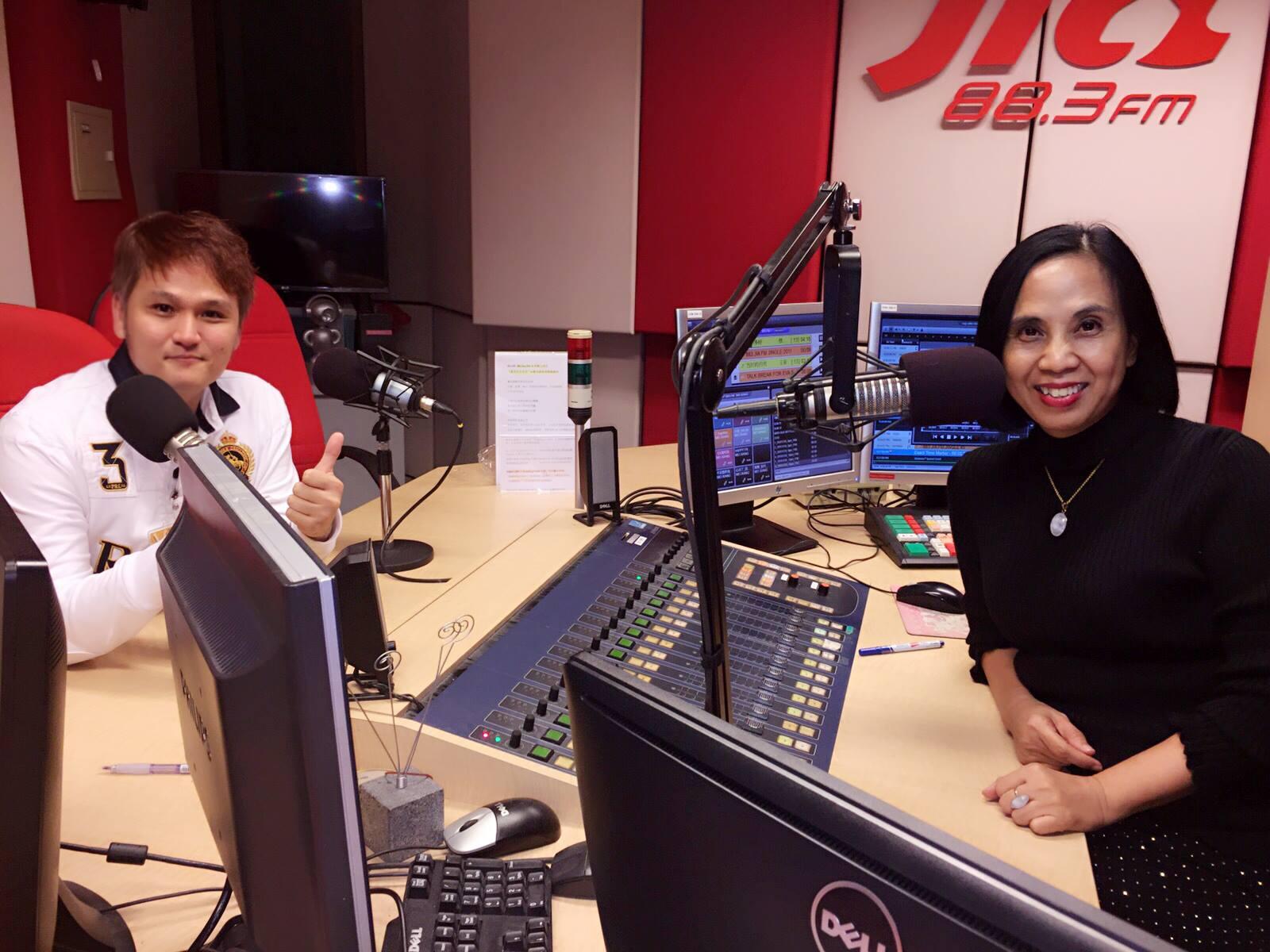 88.3Jia FM Radio Interview