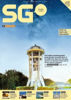 Featured and Published in SG Magazine