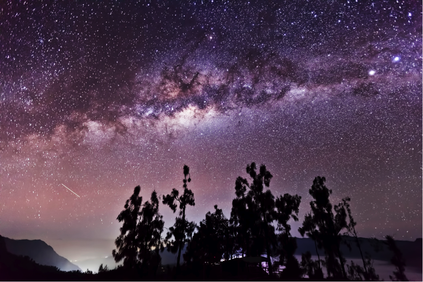 Milkyway in Bromo