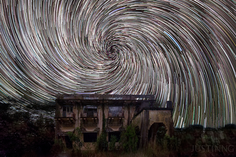 Istana Woodneuk | Woodneuk House | Tyersall House Star Trails