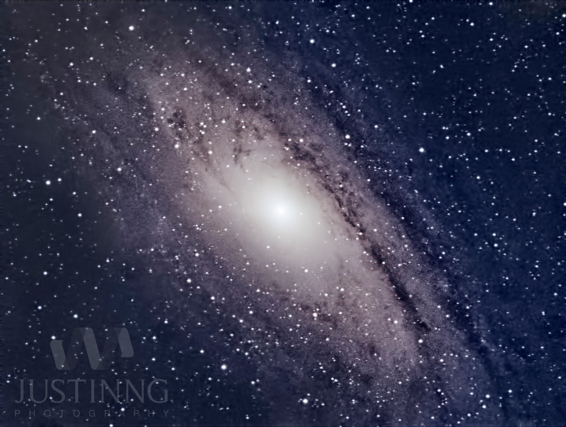 My first andromeda galaxy shot