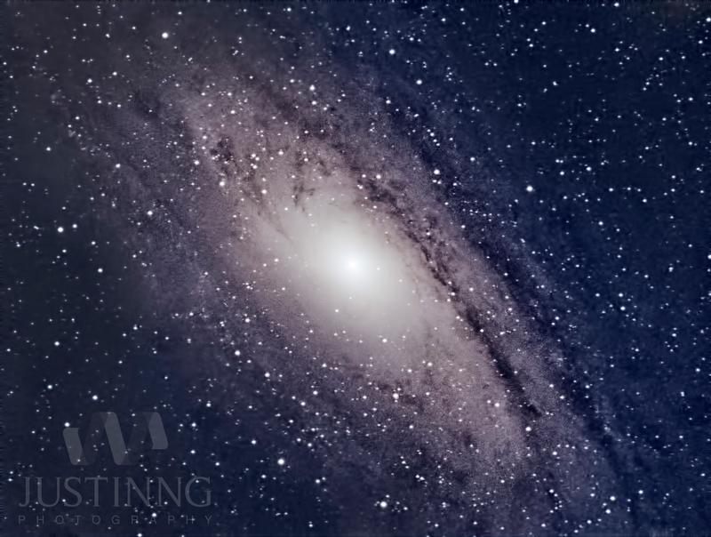 My first andromeda galaxy shot