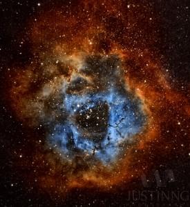 Rosette Nebula (Caldwell 49) Narrowband