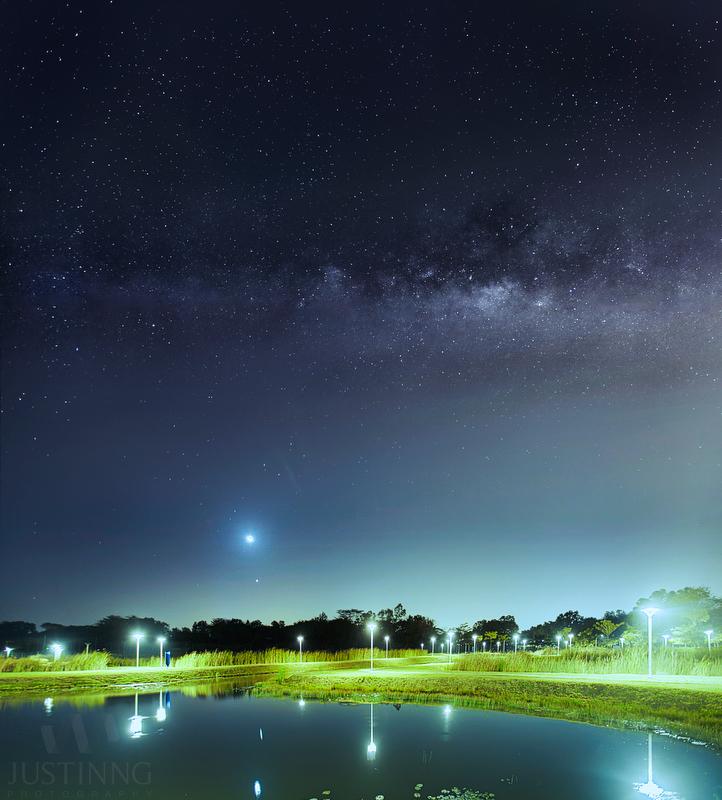 27 Mar 2014 - Moon Venus Conjunction in Lorong Halus