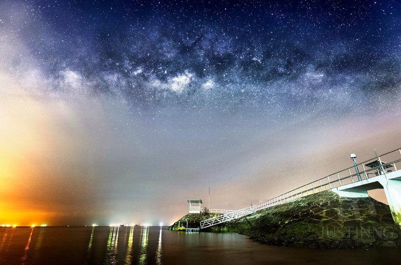 140330-East Coast Park Milky Way