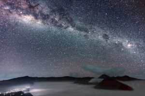 140503-Milky Way in Mount Bromo