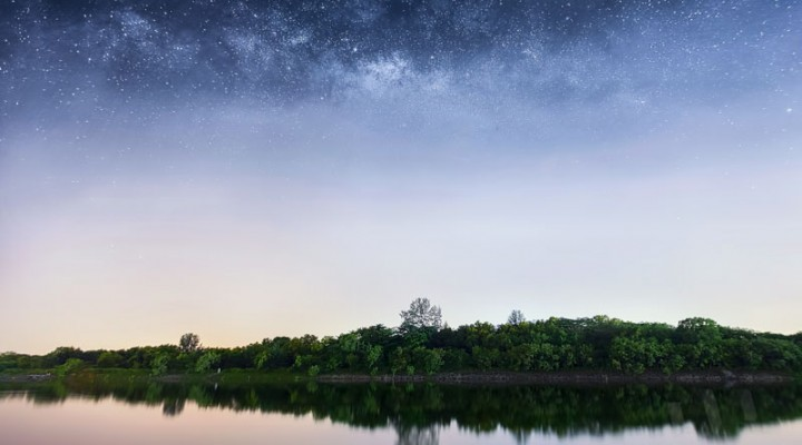 20 July 2014 – Rising Milky Way at Punggol Singapore