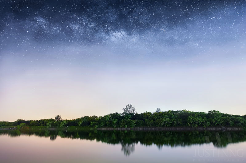 20 July 2014 - Rising Milky Way at Punggol Singapore