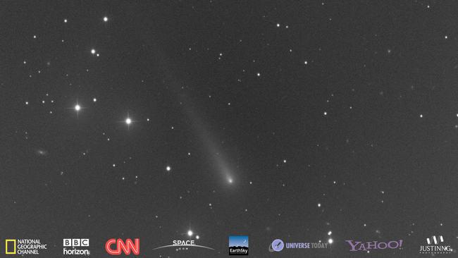 CNN Comet ISON BBC NATGEO