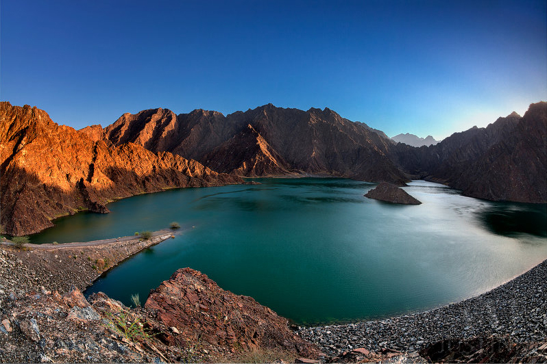 Before-Hatta Dam Day and Night