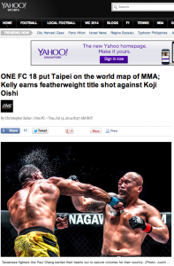 140715-ONEFC Taipei on Yahoo