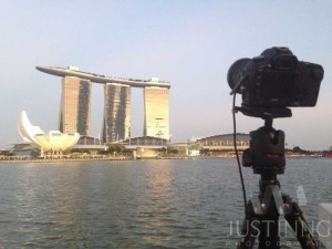 140721-My-camera-setup-to-shoot-the-Milky-Way-above-Marina-Bay-Sands-Singapore