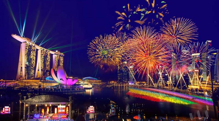 26 July 2014 – National Day Parade (NDP) Rehearsal Fireworks Photography Outing
