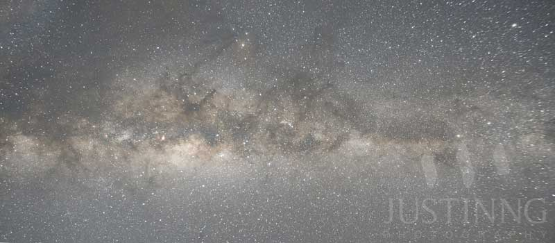Before-Milky Way Galaxy from Mount Bromo