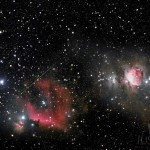 24 August 2014 – A Meteor Streaked Across The Orion Constellation