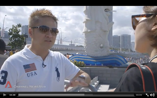 09 August 2014 – Interview with Channel News Asia on National Day