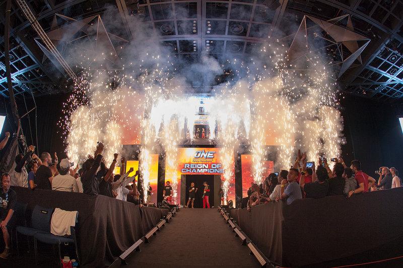 ONE FC Dubai Opening