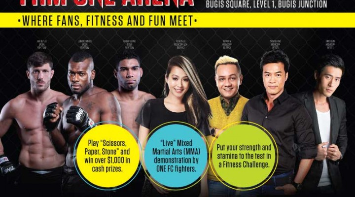 Singapore FHM and ONE Fighting Championship Fan Engagement Event in Singapore!