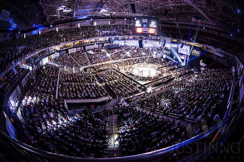 Mall of Asia Arena in Manila. Credit Sherwin / Post-processed by: Justin Ng