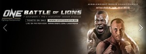 ONE Fighting Championship: Battle of Lions