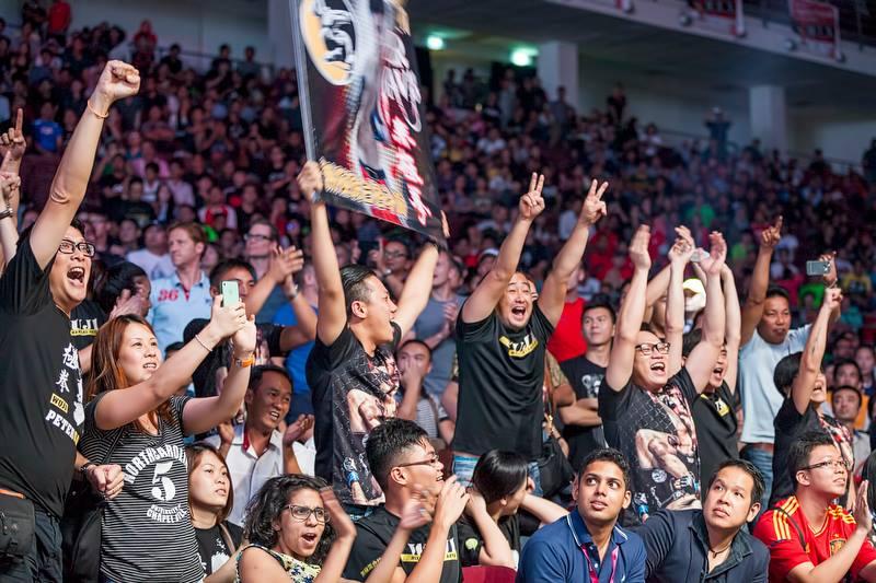 Audience enjoying the show. Credit: Justin Ng