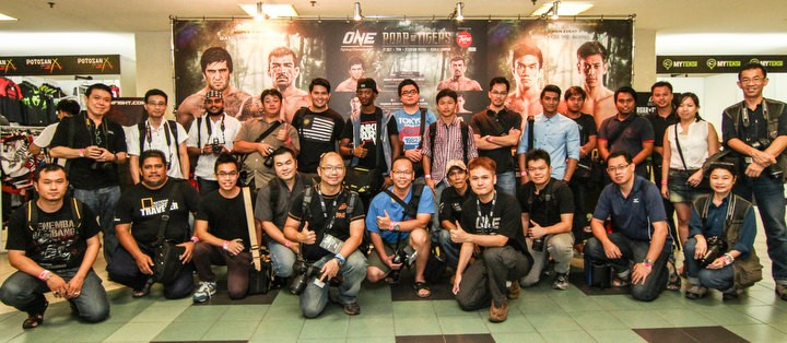 SINGAPORE: Photographers Wanted for ONE Fighting Championship: BATTLE OF LIONS