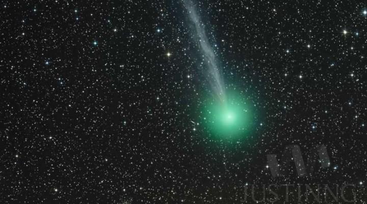 29 December 2014 – Comet Lovejoy (C/2014 Q2), Spiral Galaxy (NGC1886) and Globular Cluster M79 (NGC1904)