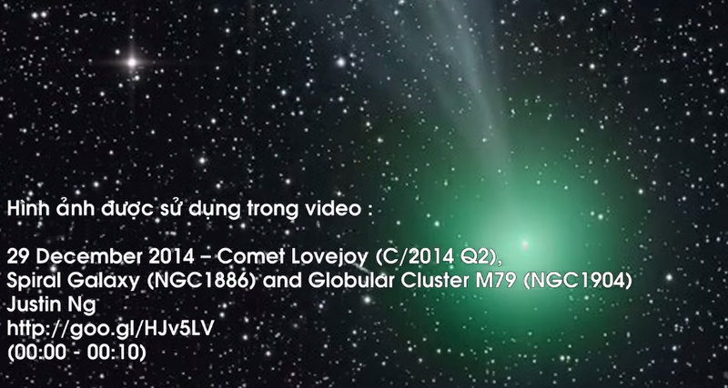 Comet Lovejoy C:2014Q2 on FTVH-2