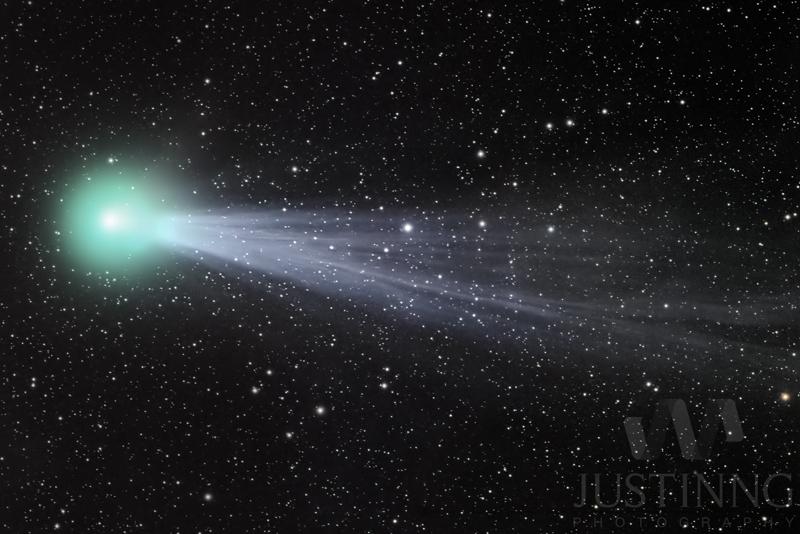 23 Jan 2015 - LRGB image of Comet Lovejoy (C/2014 Q2)