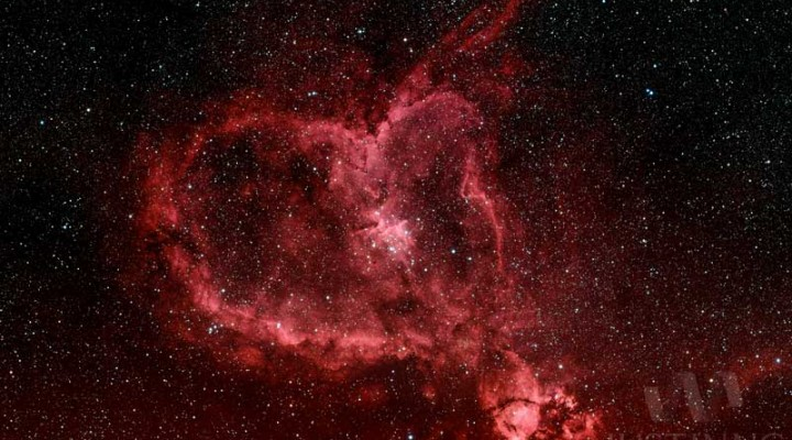 Heart Nebula (IC 1805) – Happy Valentine's Day!