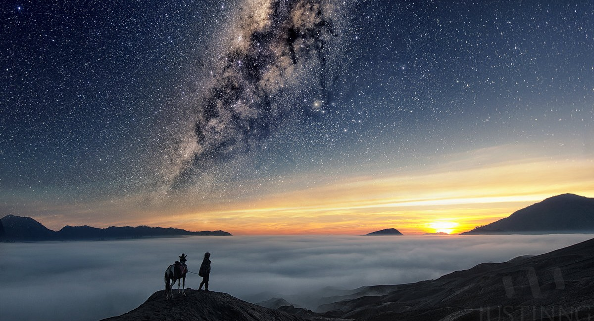 Horseman and the Milky Way