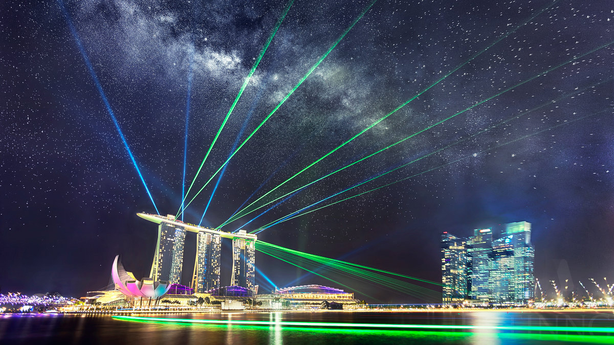 How I Photograph The Milky Way That's Obscured By Extreme Light Pollution in Singapore