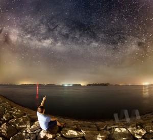 18 February 2016 - Milky Way in Sentosa Singapore
