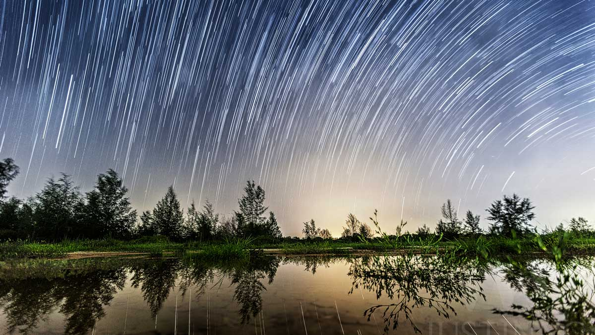 Star Trails in Singapore