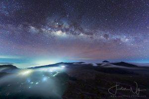 04 May 2019 - Rising Milky Way above Mount Bromo