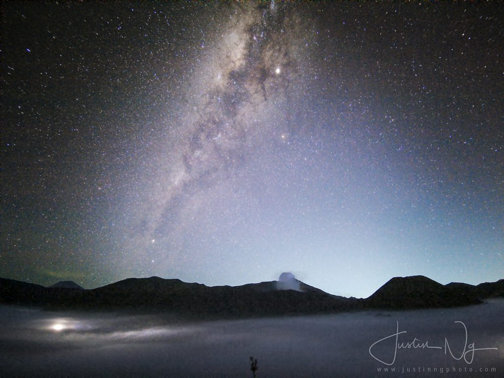 2019 Mount Bromo Milky Way Astrophotography with Huawei P30