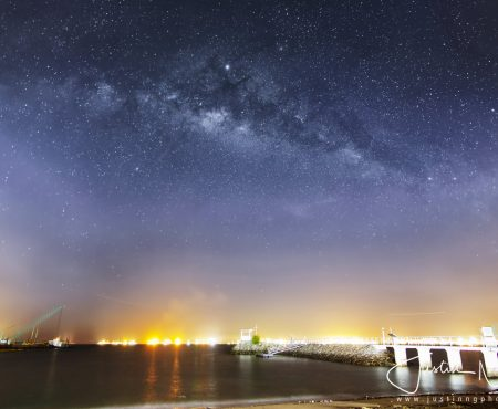 Huawei P30 Pro Captured Milky Way at East Coast Park Singapore on 26 May 2019