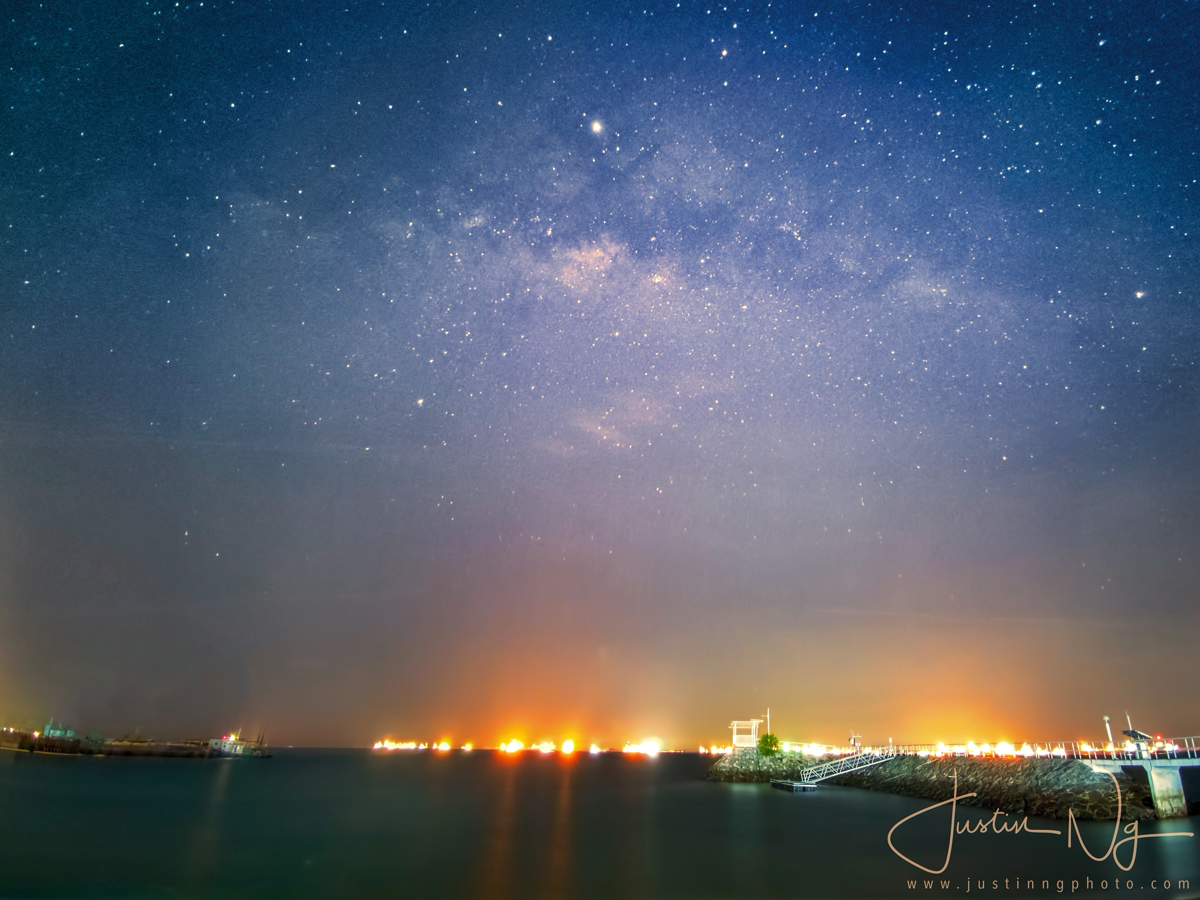26 May 2019 - Huawei P30 Pro Captured Milky Way at East Coast Park Singapore