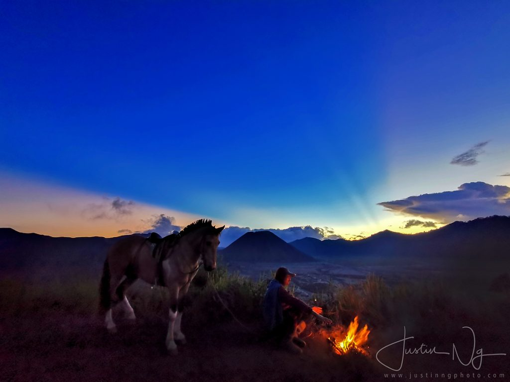 Mount Bromo Sunset with Huawei P30 Pro
